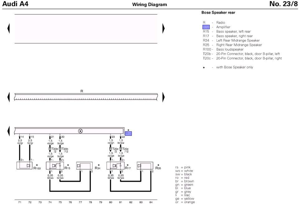 audi a8 1999 wiring diagrams pdf 1996 audi a8 wiring