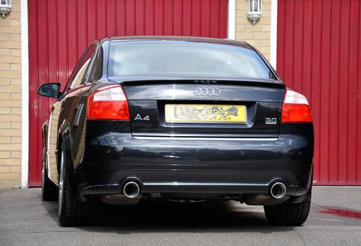 A4 90mm Exhaust Trim Audi Sport Net
